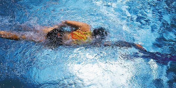 Schwimmtechnik-Training Triathlon